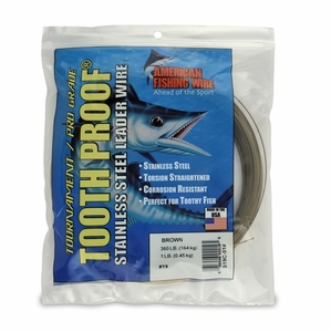 AFW Toothproof Camo -Brown (#19) 1LB MFG#S19C-01#