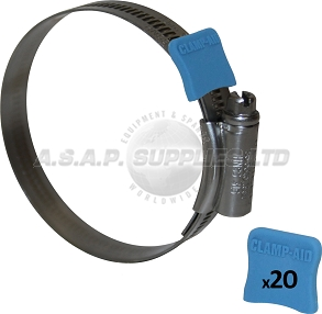 "Clamp-Aid 1/2"" Band 20 Packs"