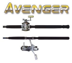 Okuma Avenger Combo 7ft - One Piece MFG# ABF-701MH-65
