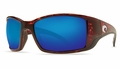 Costa Blackfin Sunglasses: Tortoise / Blue Mirror - MFG#BL-10-BMGLP