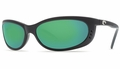 Costa Fathom Sunglasses: Black / Green Mirror - MFG#FA-11-GMGLP