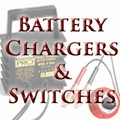 Battery Chargers & Switches