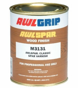 AwlGrip Awl-Spar  Classic Spar Varnish Quart - MFG# M3131