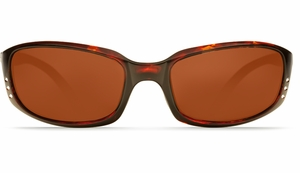 Costa 580 Brine Sunglasses: Tortoise / Copper - MFG#BR-10-OCP