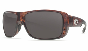 Costa 580 Double Haul Sunglasses: Tortoise / Gray - MFG#DH-10-OCP