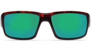 Costa 580 Fantail Sunglasses: Tortoise / Green Mirror - MFG#TF-10-OGMGLP