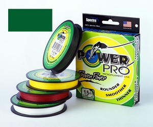 Power Pro Braid -Moss Green