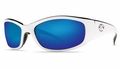 Costa Hammerhead Sunglasses: White / Blue Mirror - MFG#hh-30-BMGLP