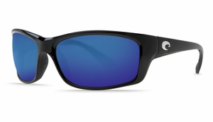 Costa 580 Jose Sunglasses: Black / Blue Mirror - MFG#JO-11-OBMGLP