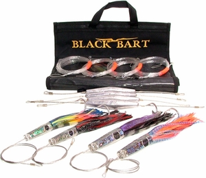 BB Wahoo Rigged Light Pack 30-50 lb Tackle