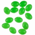 P-Line Glow Beads 7X10mm Egg (36-Pack)