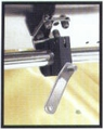 Single Horizontal Round Rail Mount