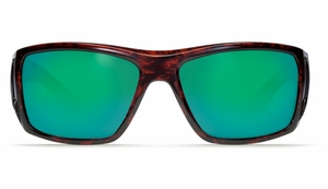 Costa Bomba Sunglasses: Tortoise / Green Mirror - MFG#MB-0A-GMGLP