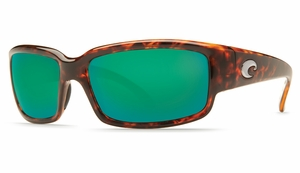 Costa Caballito Sunglasses: Tortoise / Green Mirror - MFG#CL-10-GMGLP