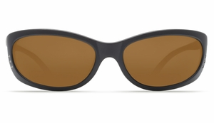 Costa Fathom Sunglasses: Black / Dark Amber - MFG#FA-11-DAP
