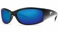 Costa 580 Hammerhead Sunglasses: Black / Blue Mirror - MFG#HH-11