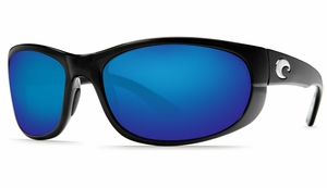 Costa Howler Sunglasses: Black / Blue Mirror - MFG#HO-11-BMGLP