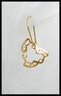 Edgy Hearts in Gold