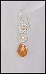 Peachy Keishi Dangle Earrings