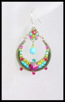 Favorite Multi Colored Hoop Earrings