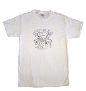 Mother Nature Unisex White Tee