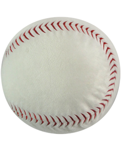 Personalizeable Sports Pillow - Baseball PERSONALIZE ME!