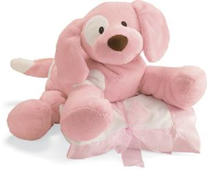 Baby Gund Loveable Hugs Soft Cuddly Infant Blanket & Friend