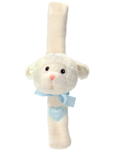Komet Creations  Wrist Rattle -- Lenny Lamb PERSONALIZE ME!