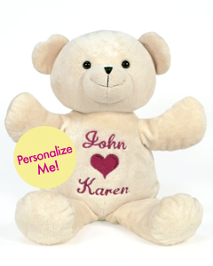 "Personalizeable Pals Plush 20"" 86796 Bear PERSONALIZE ME!"