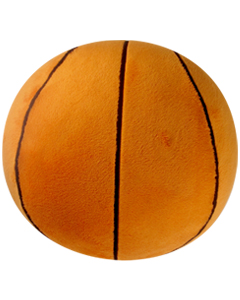 Personalizeable Sports Pillow - Basketball PERSONALIZE ME!
