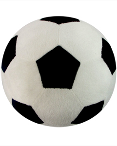 Personalizeable Sports Pillows TM. Soccer Ball PERSONALIZE ME!