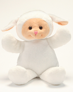 "Personalizeable Pals Plush Lamb 14"" PERSONALIZE ME!"