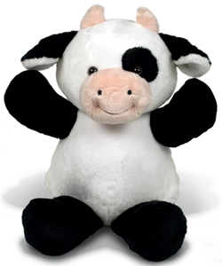 "Personalizeable Pals Plush Cow 14"" 86808 PERSONALIZE ME!"