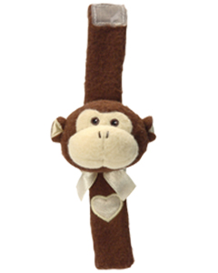Komet Creations  Wrist Rattle -- Mikie Monkey PERSONALIZE ME!