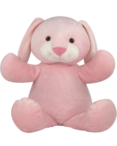 "Personalizeable Pals Plush Pink Bunny 20"" 86904 PERSONALIZE ME!"