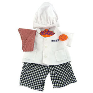 Complete Chef Outfit Plush or Doll Clothing - PERSONALIZE ME!
