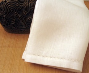 Men's 100% Irish Linen Hemstitched Handkerchief