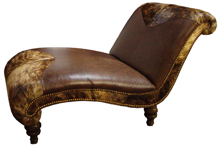 cowhide chaise lounges hair on hide chaise we beat free