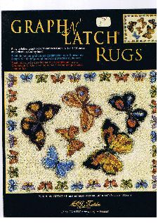 Graph n  Latch Butterfly Rug Pattern