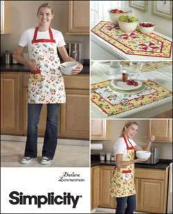 Simplicity 2691 Apron Table Runner