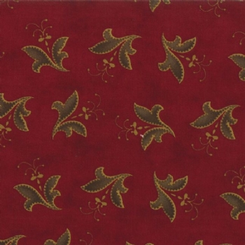 2095 16 Red Gold Fellowship Motif