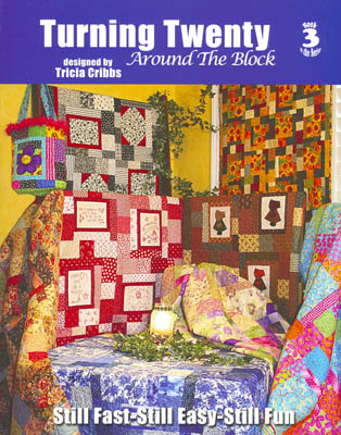Turning Twenty Around the Block Quilt Book