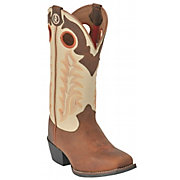 Tony Lama 3R Youth Rojo Bridle w/ Ivory Top Square Toe Western Boot