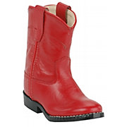 Old West JAMA Infants Red Roper Boot