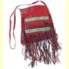 Tuareg Leather Fringed Handbag C-A119