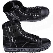 Hunter Shoes Black Leather Mens Boots.