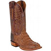 Lucchese Classic Cowboy Collection Men's Natural Burnish Hornback Exotic Squ