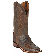 Lucchese Cowboy Collection Men's Timber Belize Crocodile Exotic Squa