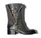 WOLF GREY VINTAGE TUMBLED Ladies Biker boots.