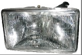 87 88 89 90 PLYMOUTH VOYAGER DODGE CARAVAN CHRYSLER TOWN & COUNTRY LAMP HEADLIGHT RH *